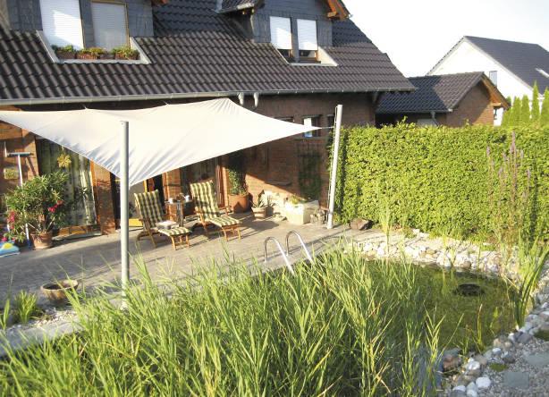 doppelhaush lfte mit schwimmteich grunewald gmbh werne. Black Bedroom Furniture Sets. Home Design Ideas